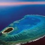 lady musgrave island aerial photo
