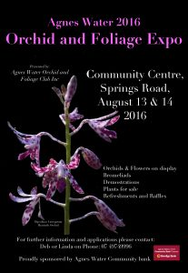 agnes water orchid and foilage expo 2016