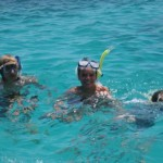 Snorkelling at Lady Elliot Island