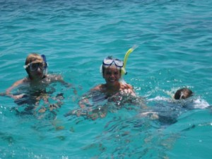 Snorkelling at Lady Elliot Island